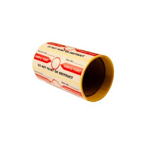 10960 Sample hole label