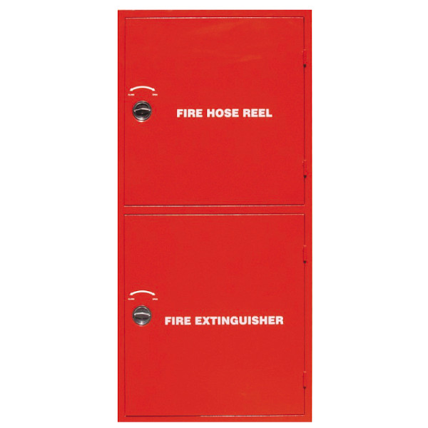 Double Compartment Fire Hose cabinet