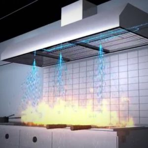 Kitchen Hood Fire Protection
